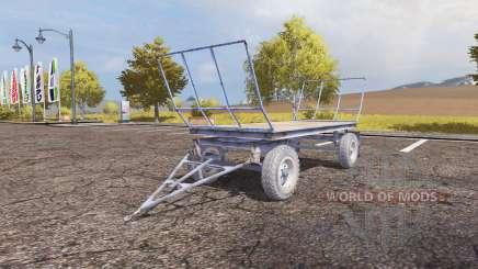 Autosan bale trailer для Farming Simulator 2013