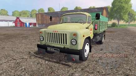 ГАЗ 53 ДОСААФ v2.0 для Farming Simulator 2015