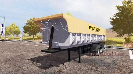 Guerra tipper semitrailer для Farming Simulator 2013