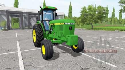 John Deere 4760 для Farming Simulator 2017