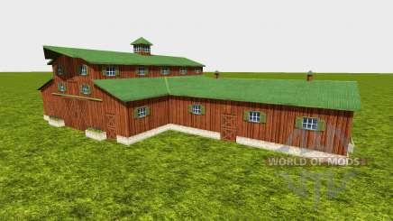 American barn для Farming Simulator 2015