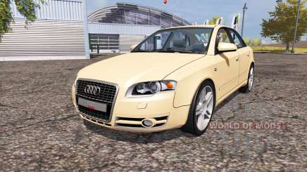 Audi A4 3.0 TDI quattro (B7) для Farming Simulator 2013