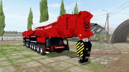 Liebherr LTM 11200-9.1 Mammoet speed lift для Farming Simulator 2017