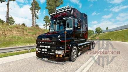 Скин Predator на тягач Scania T-series для Euro Truck Simulator 2