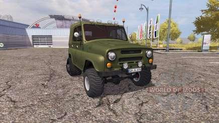 УАЗ 469 полугусеничный для Farming Simulator 2013