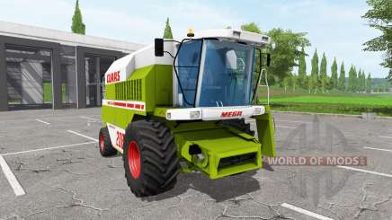 CLAAS Dominator 208 Mega для Farming Simulator 2017
