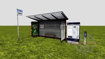 Bus stop для Farming Simulator 2015