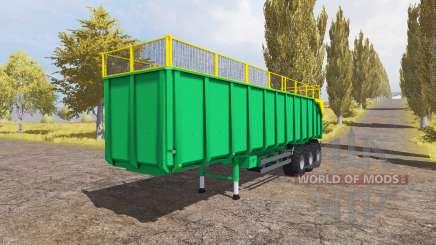 Silage semitrailer для Farming Simulator 2013