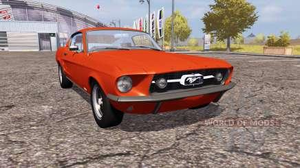 Shelby GT500 1967 для Farming Simulator 2013