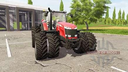 Massey Ferguson 8737 для Farming Simulator 2017