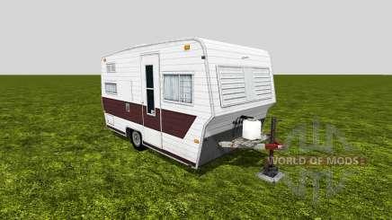Camping trailer для Farming Simulator 2015
