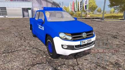Volkswagen Amarok Double Cab THW для Farming Simulator 2013