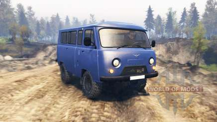 УАЗ 2206 v2.1 для Spin Tires