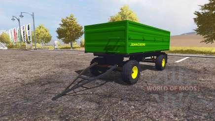John Deere trailer для Farming Simulator 2013