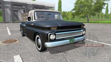 Chevrolet C10 Fleetside 1966 v1.1 для Farming Simulator 2017