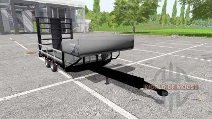 Small utility trailer для Farming Simulator 2017