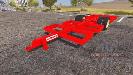 Mainero bale trailer для Farming Simulator 2013