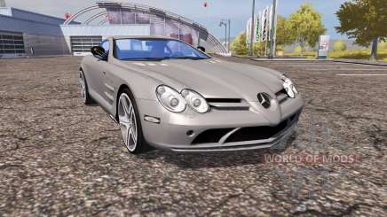 Mercedes-Benz SLR McLaren (C199) для Farming Simulator 2013