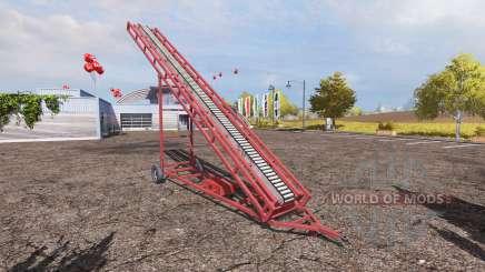 Conveyor belt v2.0 для Farming Simulator 2013