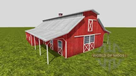 American barn v2 для Farming Simulator 2015