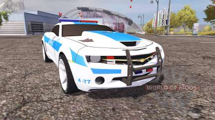 Chevrolet Camaro Police v2.0 для Farming Simulator 2013