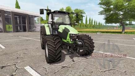 Deutz-Fahr 5110 TTV v4.0 для Farming Simulator 2017