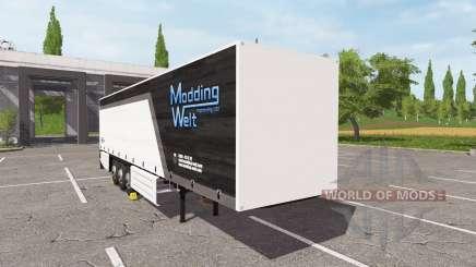 Schmitz Cargobull Modding Welt v1.1.0.1 для Farming Simulator 2017