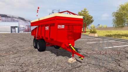 Alein tipper trailer для Farming Simulator 2013