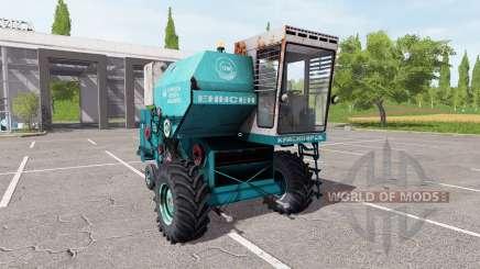 КЗК Енисей 1200-1 для Farming Simulator 2017