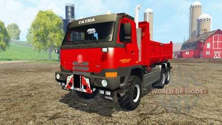 Tatra T815 TerrNo1 6x6 для Farming Simulator 2015