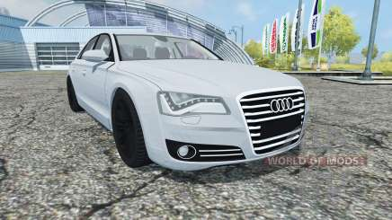 Audi A8 (D4) 2012 для Farming Simulator 2013