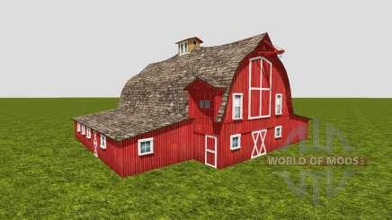 American barn v3 для Farming Simulator 2015