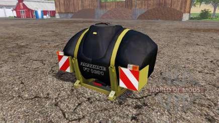 AMAZONE FT 1001 eco black edition v2.0 для Farming Simulator 2015