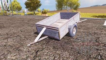 Small trailer для Farming Simulator 2013