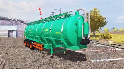 Aguas-Tenias tank manure для Farming Simulator 2013