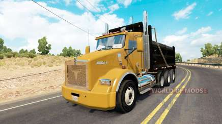 Kenworth T800 dump для American Truck Simulator