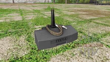 Weight Fendt для Farming Simulator 2017