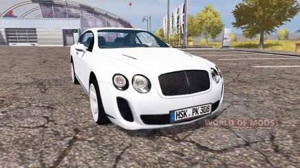 Bentley Continental GT Supersports для Farming Simulator 2013