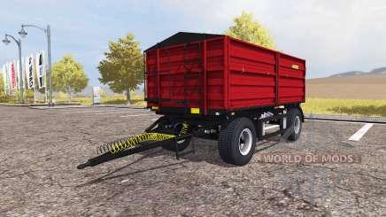 Zaslaw D-737AZ red v2.0 для Farming Simulator 2013