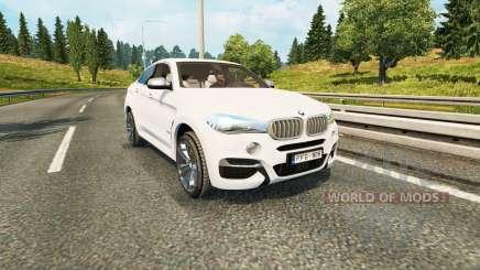 BMW X6 M50d (F16) для Euro Truck Simulator 2