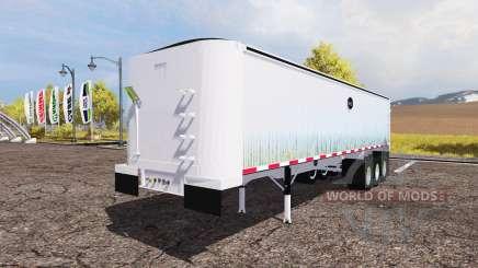 MAC dump semitrailer для Farming Simulator 2013