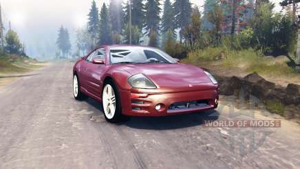 Mitsubishi Eclipse GTS 2003 для Spin Tires