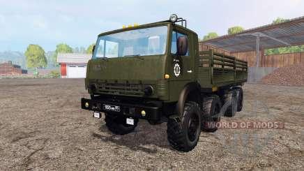 КамАЗ 6350 v1.2 для Farming Simulator 2015