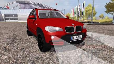 BMW X5 4.8i (E70) для Farming Simulator 2013