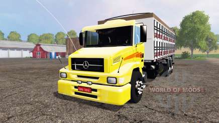 Mercedes-Benz 1620 v2.0 для Farming Simulator 2015