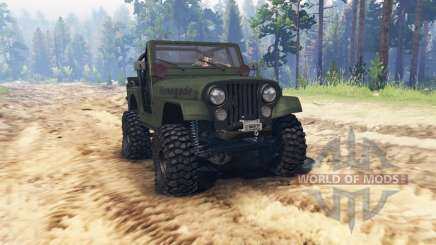 Jeep CJ-7 Renegade 1976 для Spin Tires
