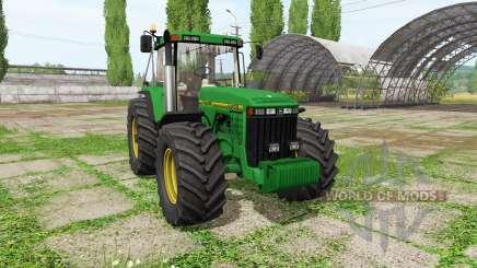 John Deere 8400 для Farming Simulator 2017