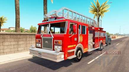 Emergency vehicles USA traffic для American Truck Simulator
