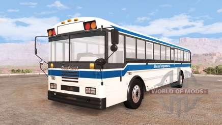 Dansworth D2500 (Type-D) generic transport v1.4 для BeamNG Drive