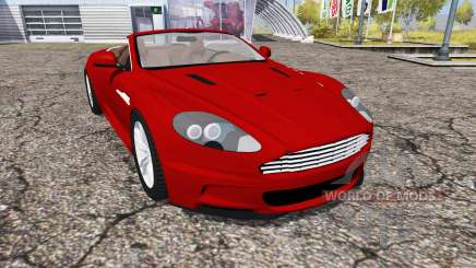 Aston Martin DBS Volante 2010 для Farming Simulator 2013